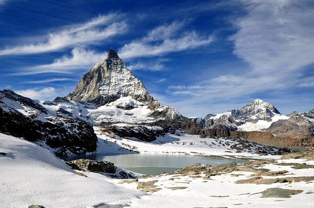 Zermatt, Matterhorn, Mountain, Alps, Mount Matterhorn