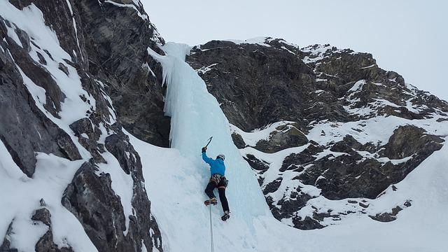 Ice Climbing, Icefall, Climb, Alpinism, Mountaineer