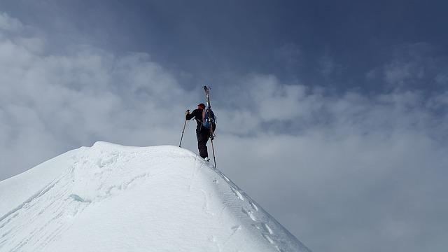 Backcountry Skiiing, Summit, Mountaineering