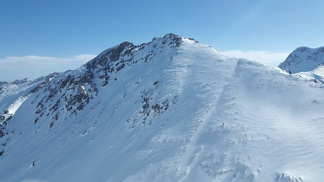 Ponten, Tannheimer Mountains, Mountaineering, Winter