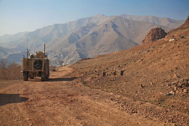 Afghanistan, Humvee, Deployment, Mountains, Convoy