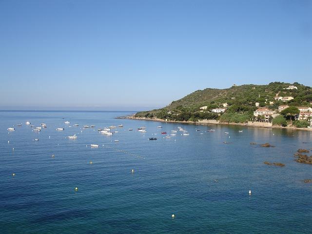 Corsica, Ajaccio, July, Holiday, Boats, Sea, Mountains
