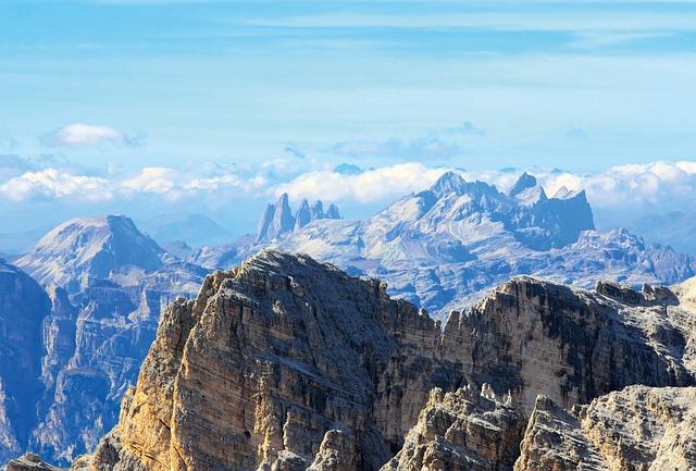 Dolomites, Mountains, Tofana, Alpine, Alpine Panorama