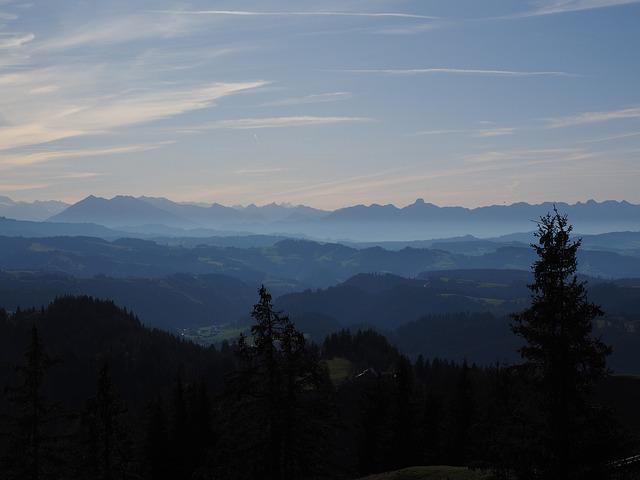 Alpine, Alpine Panorama, Sneezing, Stockhorn, Mountains