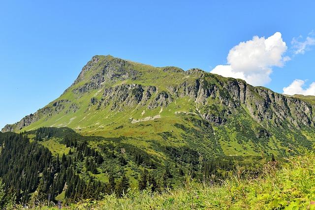 Mountains, Almen, Austria, Alpenpanorma