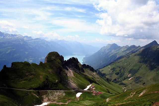 Bernese Oberland, Mountains, Alpine, Lake Of Brienz