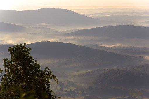 Landscape, Blue Ridge Parkway, Mountains