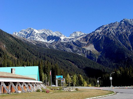 Rogers Pass, British Columbia, Canada, Mountains
