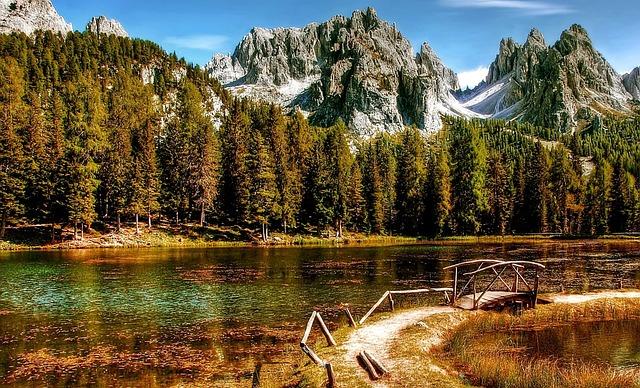 Dolomites, Cadini, Mountains, Nature, Italy