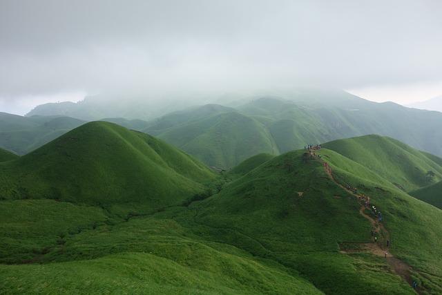 Wugongshan, Cloud, Incense, Mountains