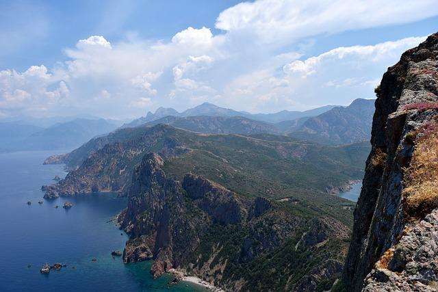 Soujanya Rosso, Corsica, Mountain, Mountains, View