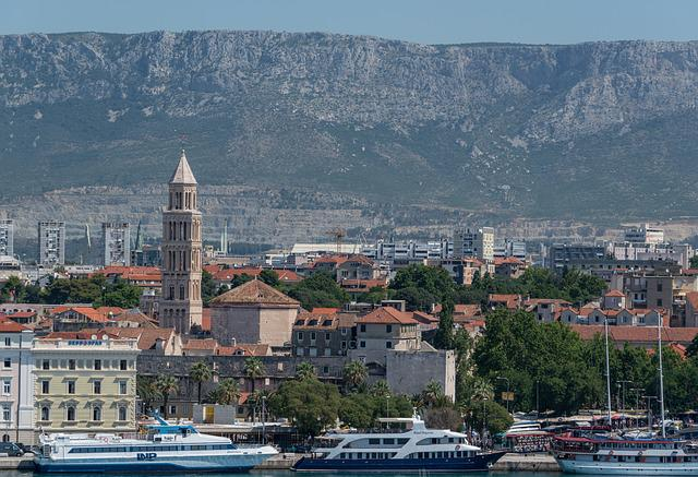 Split, Croatia, Architecture, Mountains, Landscape