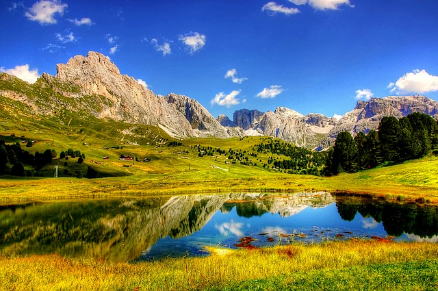 Dolomites, Mountains, Italy, South Tyrol, Nature