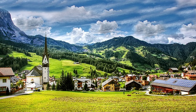 St Leonhard, Dolomites, Mountains, South Tyrol, Alpine