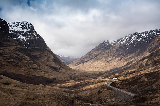 Glencoe, Scotland, Landscape, Mountains, Highlands