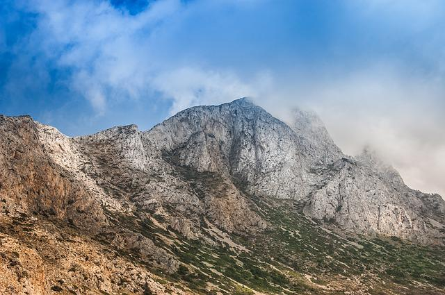 Mountains, Crete, Greece