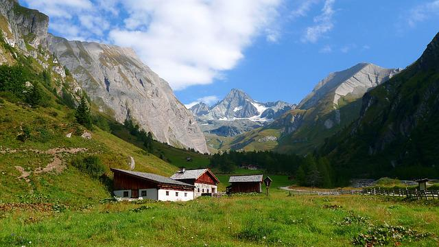 Mountains, Grossglockner, Highest Mountains In Austria