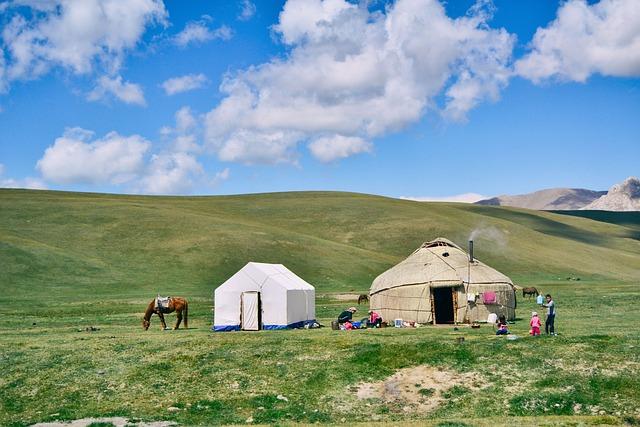 Nature, Plains, Mountains, Hills, Grasslands, Horse