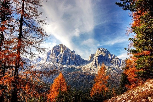 Dolomites, Mountains, Italy, Alpine, View, Nature