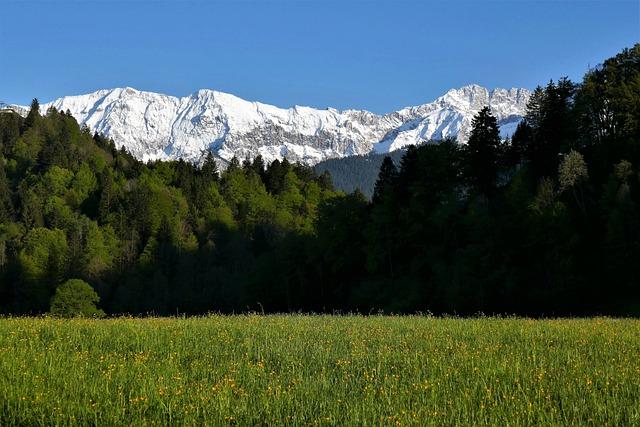 Mountains, Alpine, Karwendel, Garmisch Partenkirchen