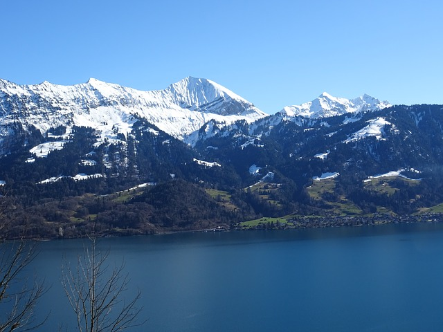 Mountains, Lake, Alpine, Weather, Blue, Sky