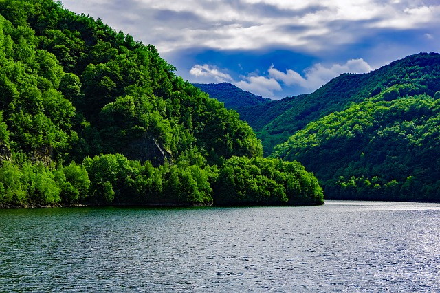 Romania, Mountains, Landscape, Lake, Water, Forest