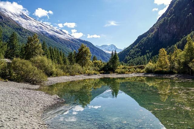 Landscape, Mountain Landscape, Mountains
