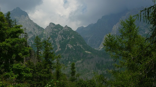 Tatry, Mountains, Landscape, Nature, Top View