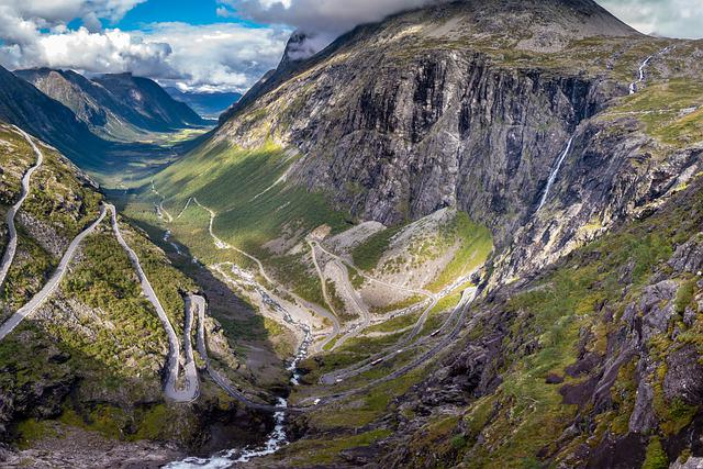 Norway, Landscape, Mountains, Panorama, Scenery