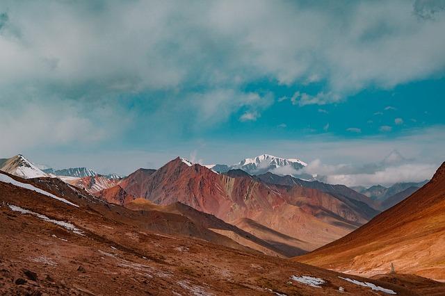 Landscape, Mountains, Sky