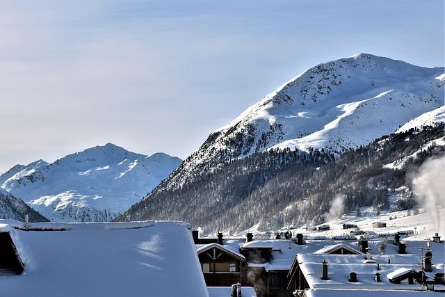 Winter, Snow, Landscape, Alpine, Mountains, Wintry
