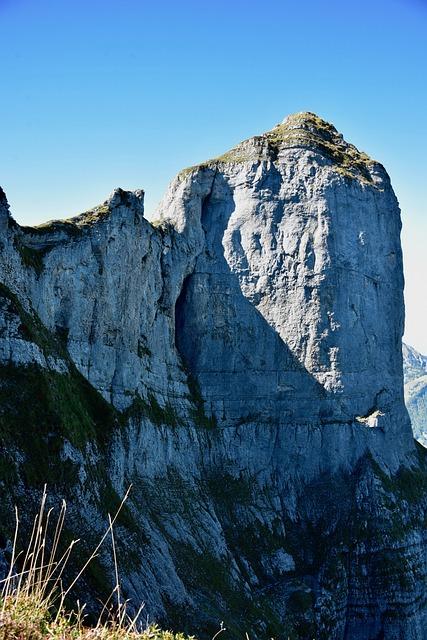 Mountain, Rock, Landscape, Mountains, Alpine Panorama