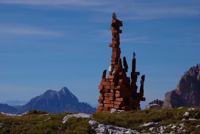 Stones, Dolomites, Mountain, Mountains, Nature