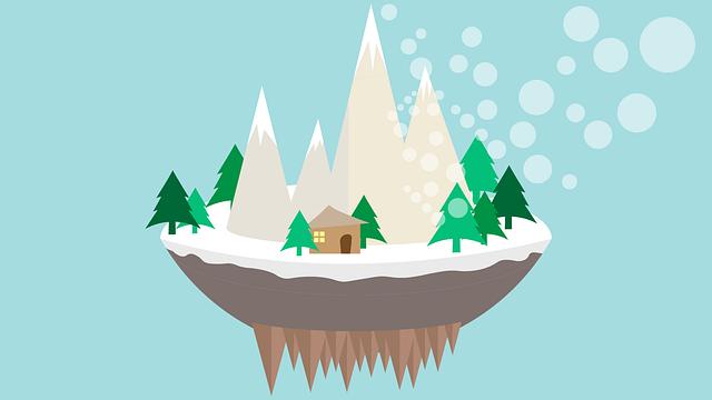 Christmas, Mountains, Mountain, Fir, Merry Christmas