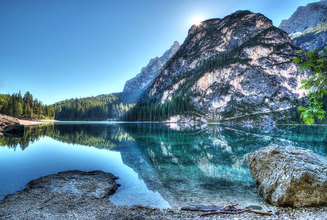 Lake, Bergsee, Mountain Lake, Mountains, Nature, Hdr