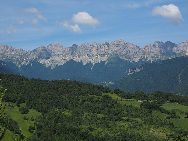 Vercors, Mountain Range, Mountains, Mountain Landscape