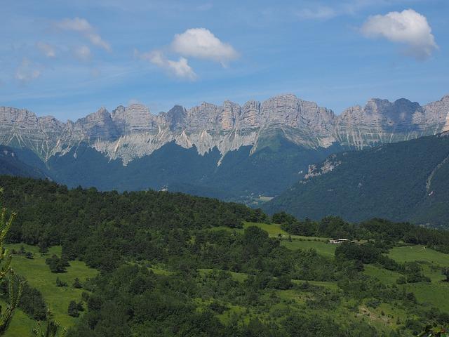Vercors, Mountain Range, Mountains, Mountain Landscape