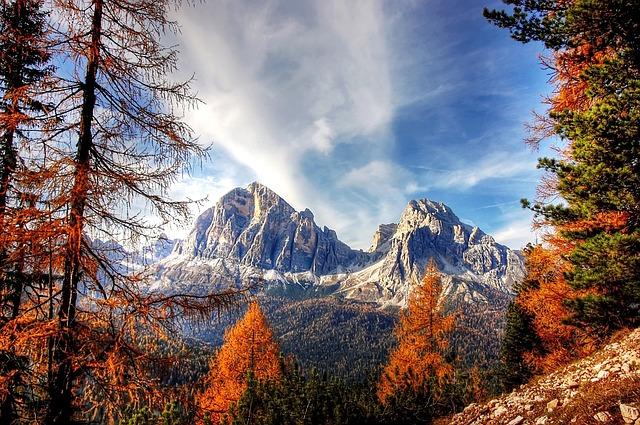 Dolomites, Mountains, Italy, Alpine, View, Nature