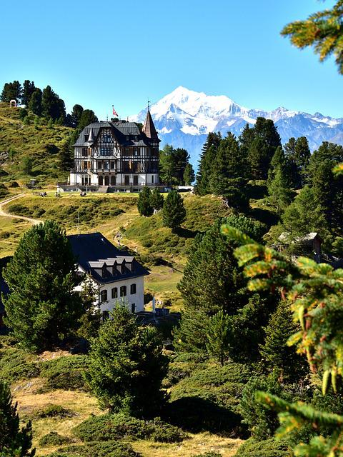 Rieder Furka, Landscape, Mountains, Nature