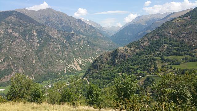 The Vall De Boí, Mountains, Landscape, Nature