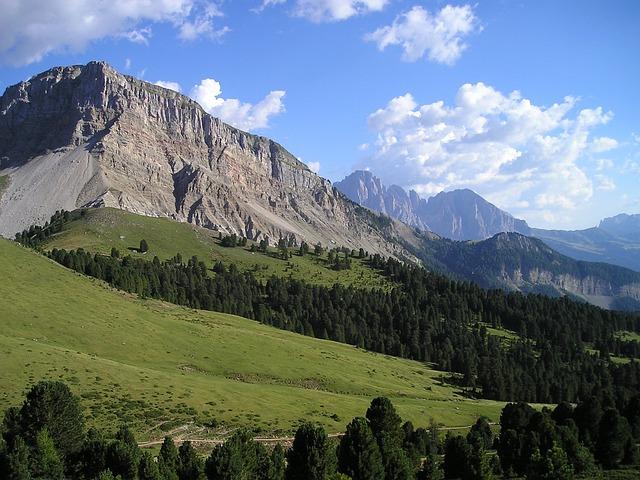 Sassolungo, Plattkofel, Mountains, Dolomites