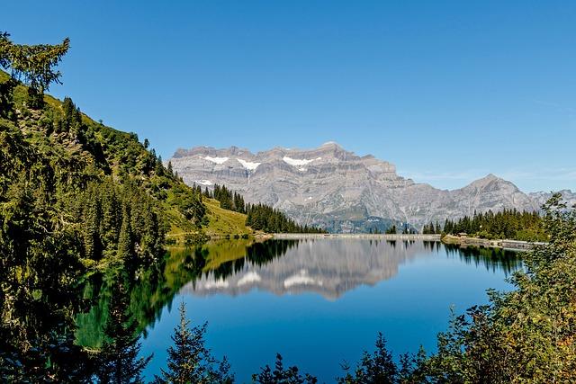 Switzerland, Mountains, Bergsee, Reservoir