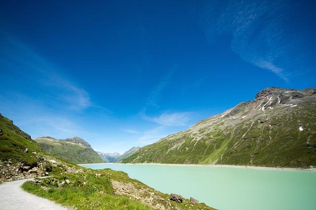 Reservoir, Mountains, Alpine, Silvretta