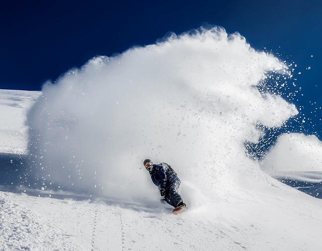 Snowboarding, Ski Slope, Mountains, Snow, Winter