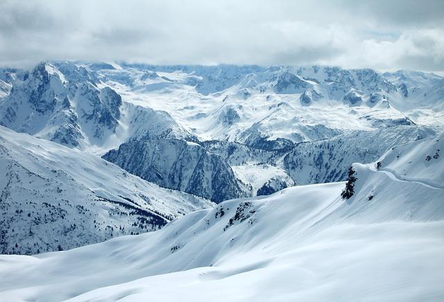 Winter, Mountains, Wintry, Alpine, Snow, Landscape, Sky