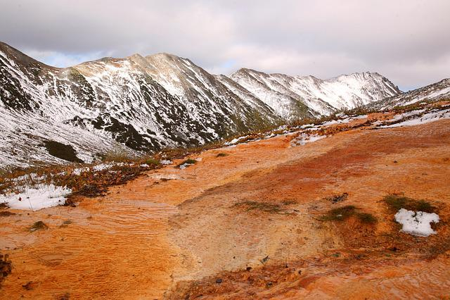 Mountains, Height, The First Snow, Source, Geyser
