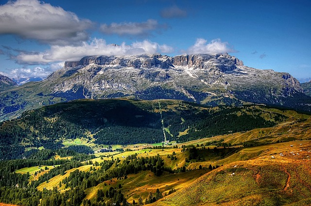 Dolomites, Sella, Italy, Mountains, South Tyrol, Alpine