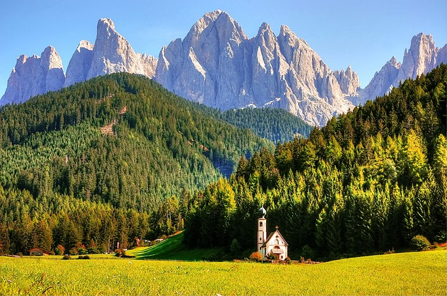 Odle, Dolomites, Mountains, Italy, South Tyrol, Alpine