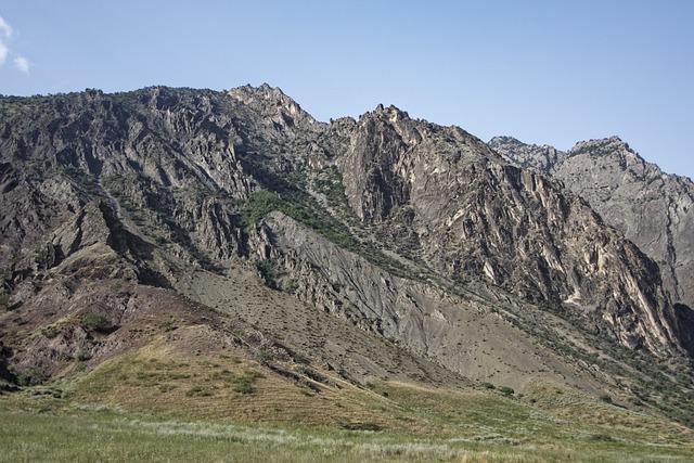 Tajikistan, Mountains, Landscape, Nature