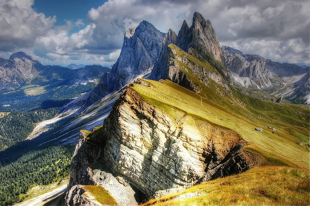 Dolomites, Mountains, Italy, South Tyrol, Val Gardena